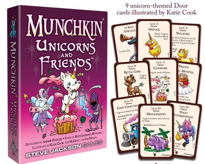 Munchkin Unicorns and Friends