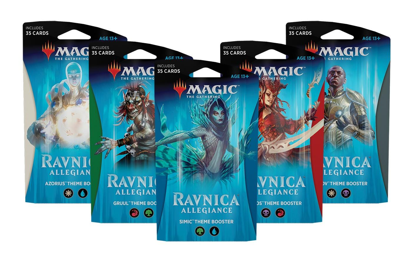 Magic: The Gathering - MTG: Ravnica Allegiance Theme Booster - Gruul Clans