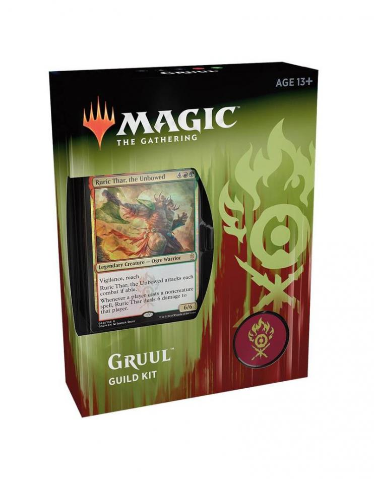 Magic The Gathering: Ravnica Allegiance Guild Kit Gruul