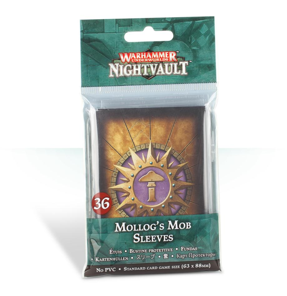 Warhammer Underworlds: Mollog's Mob Card Sleeves