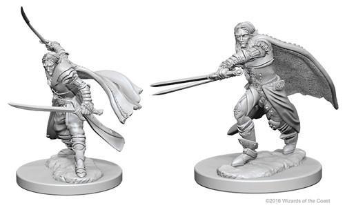 Elf Male Ranger: D&D Nolzur's Marvelous Unpainted Miniatures (W1)