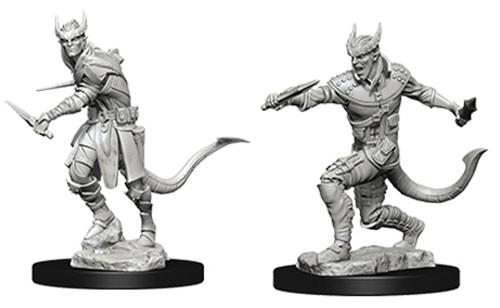 Tiefling Male Rogue: D&D Nolzur's Marvelous Unpainted Miniatures (W5)