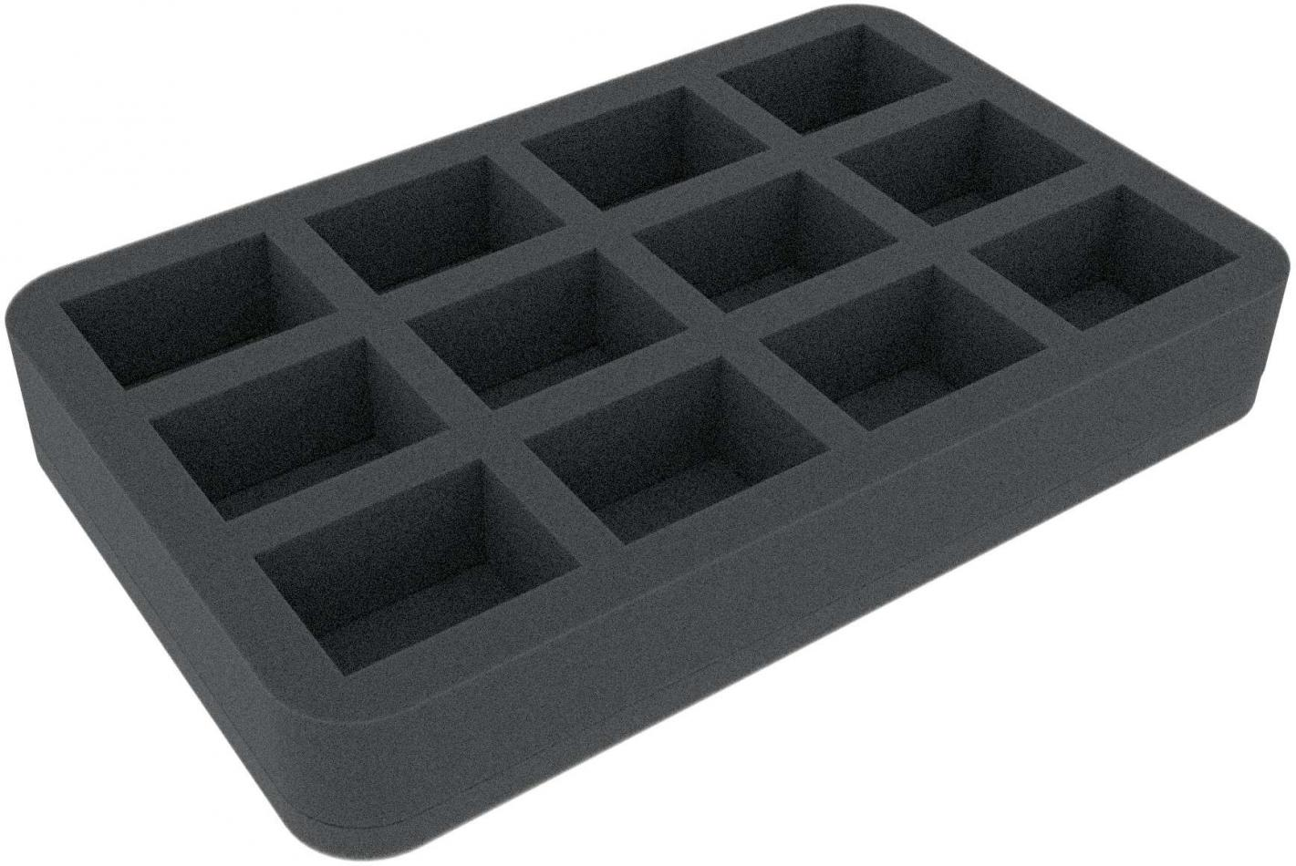 HS040LG07 foam tray for Star Wars Legion - 12 miniatures