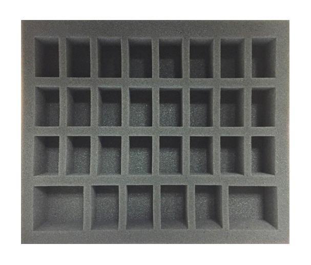 Guild Ball Troop Foam Tray (BFB) 12.5W x 10.5L x 2H