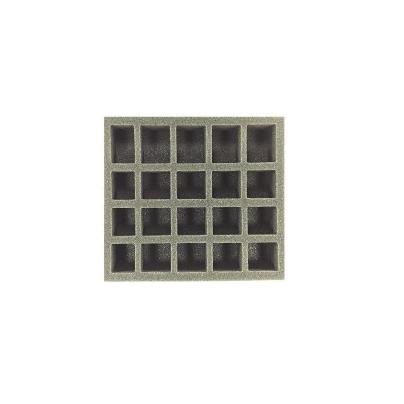 Pathfinder Small Troop Half Foam Tray (PP.5) 8.5W x 7.75L x 1.5H