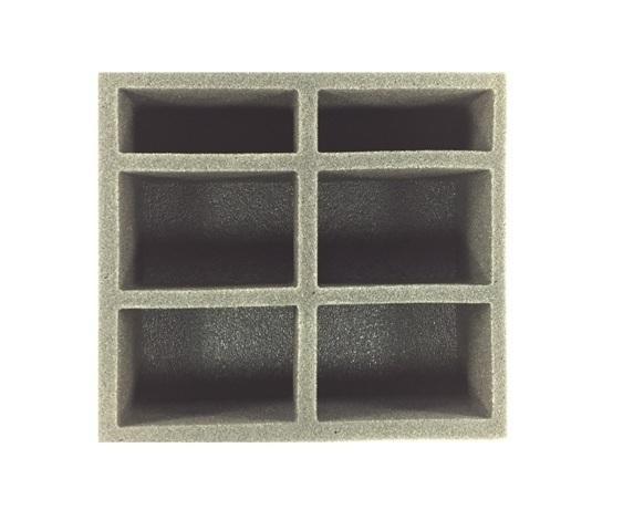 Pathfinder Medium Troop Half Foam Tray (PP.5) 8.5W x 7.75L x 1.5H