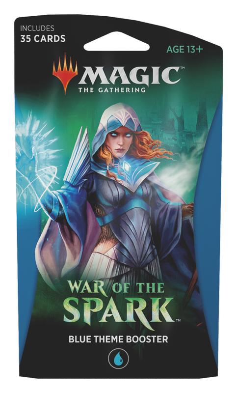 MTG: War of the Spark Theme Booster - Blue