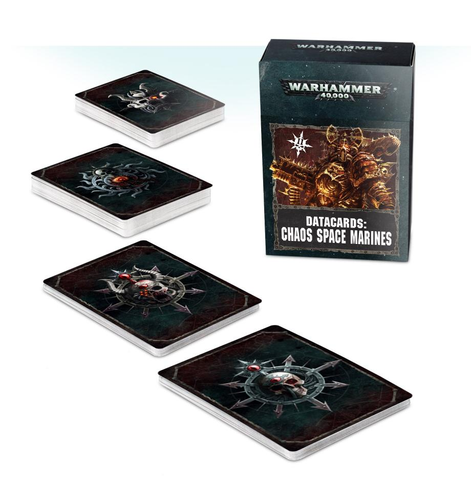Datacards: Chaos Space Marines 2 (English)