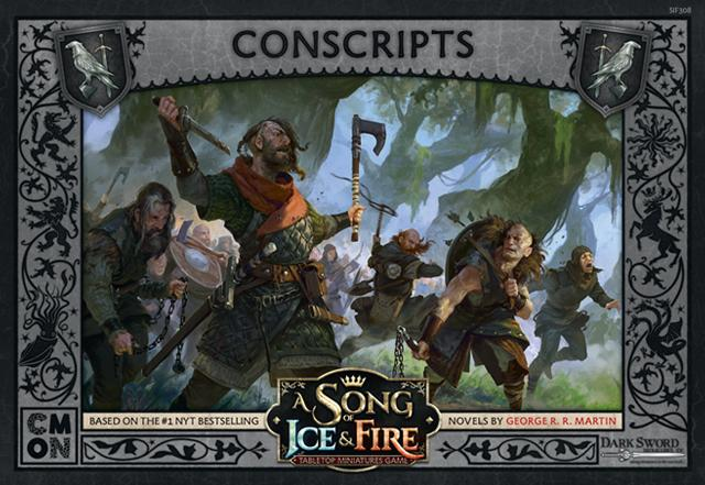 Night's Watch Conscripts : A Song Of Ice and Fire Exp.