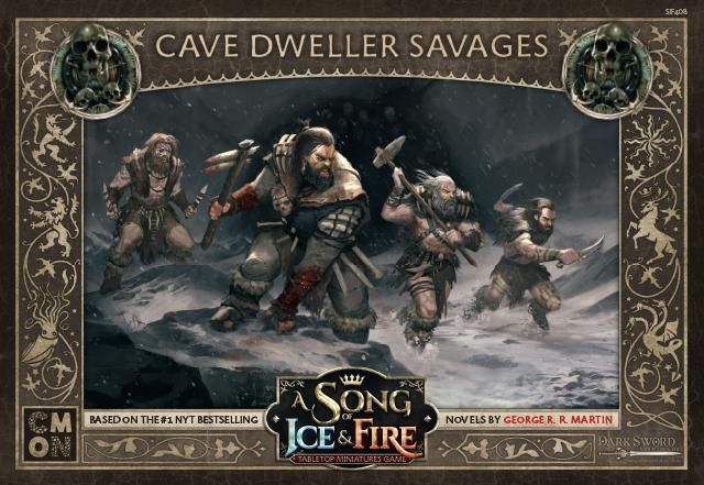 Free Folk Cave Dweller Savages : A Song Of Ice and Fire Exp.