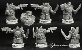 28mm/30mm SF Dwarf Commander #2