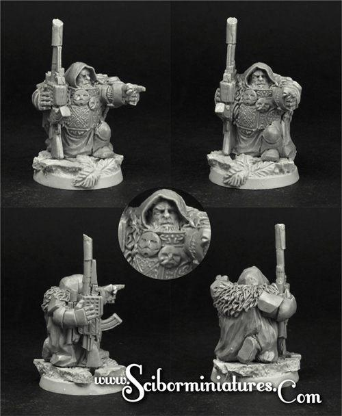 28mm/30mm SF Dwarf Sniper #4