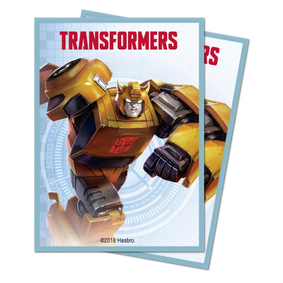 Transformers Bumblebee Deck Protector Sleeves (100)