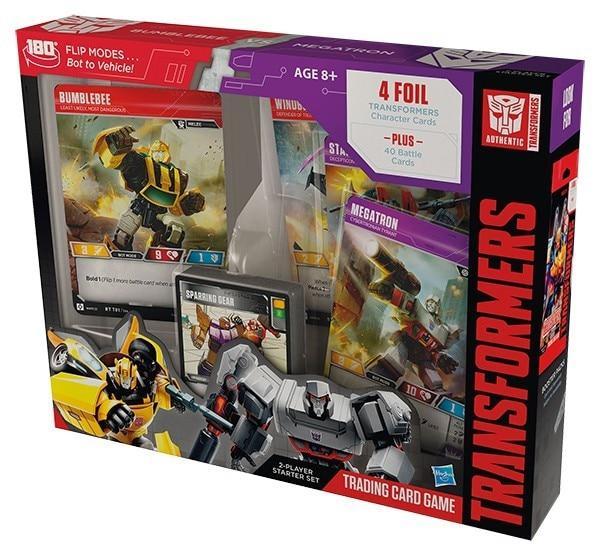 Transformers Trading Card Game Bumblebee vs Megatron Starter Set