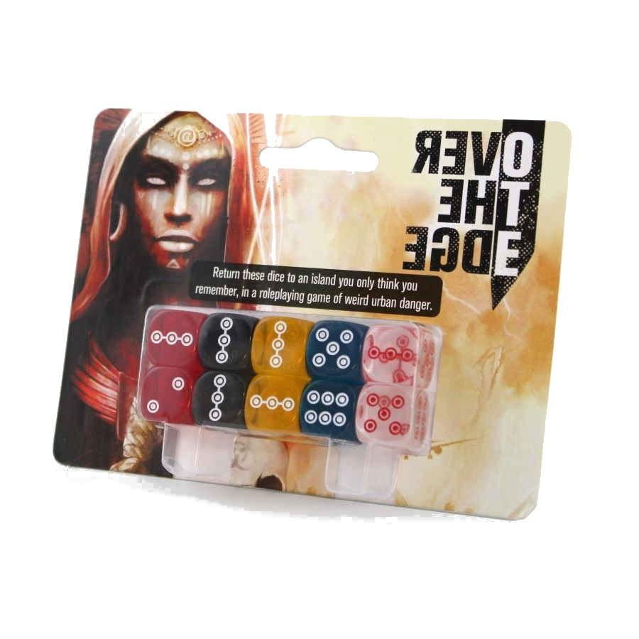 Over the Edge RPG 3rd Edition Dice Set