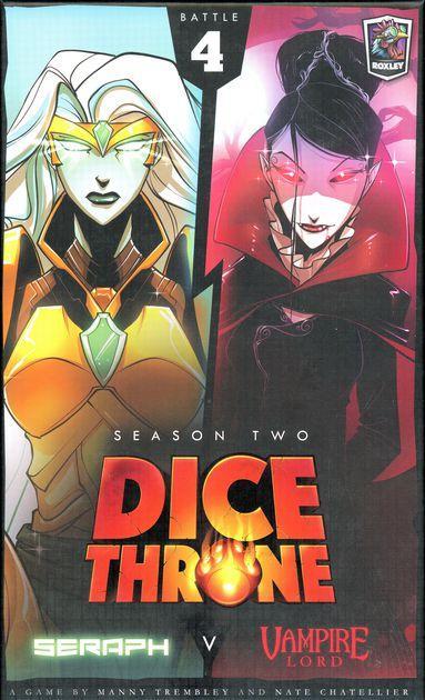 Dice Throne Season Two Box 4: Vampire Lord vs. Seraph