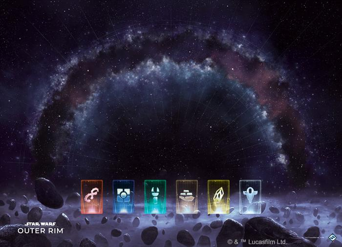 Star Wars: Outer Rim Game Mat
