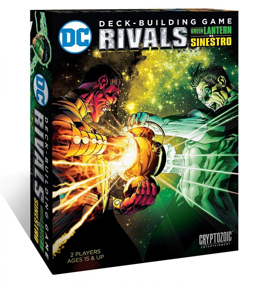 Rivals Green Lantern vs Sinestro: DC Comics Deck-Building Game