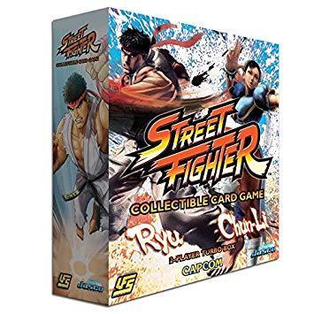 Street Fighter CCG (UFS): Chun Li vs. Ryu 2-player Starter