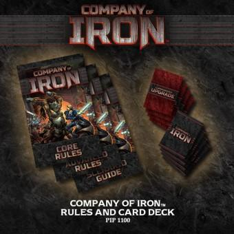 Company of Iron - Rules & Card Deck ONLY