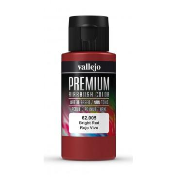 Premium Color 60ml - Bright Red