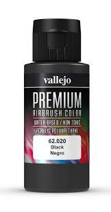 Premium Color 60ml - Black