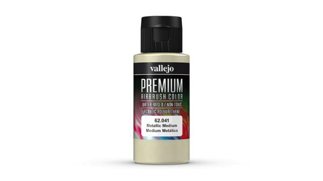 Premium Color 60ml - Metallic Medium