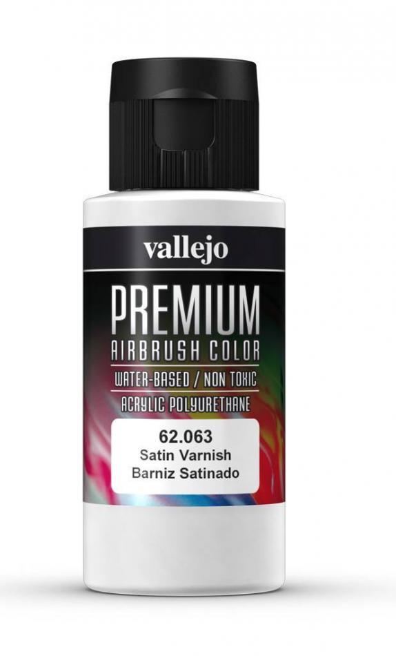 Premium Color 60ml - Satin Varnish
