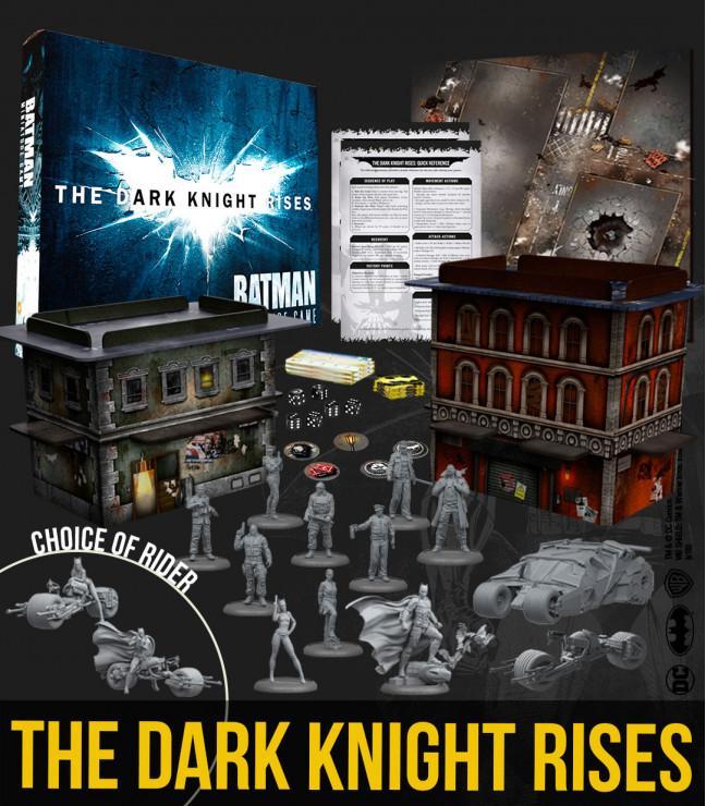 Batman - Dark Knight Rises 2-Player Game Box