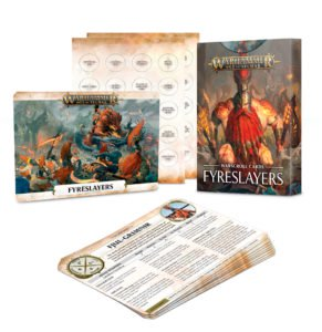 Warscroll Cards: Fyreslayers (English)