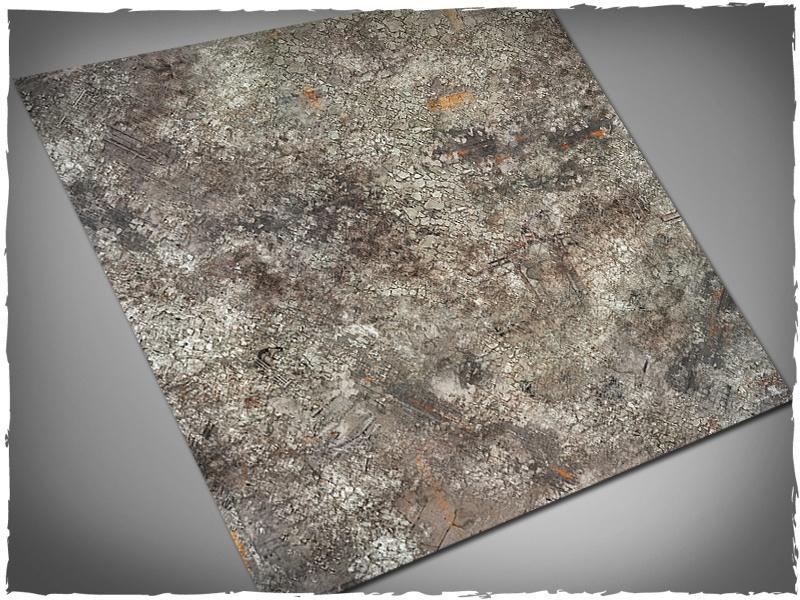 Urban Ruins - 4x4 Mousepad