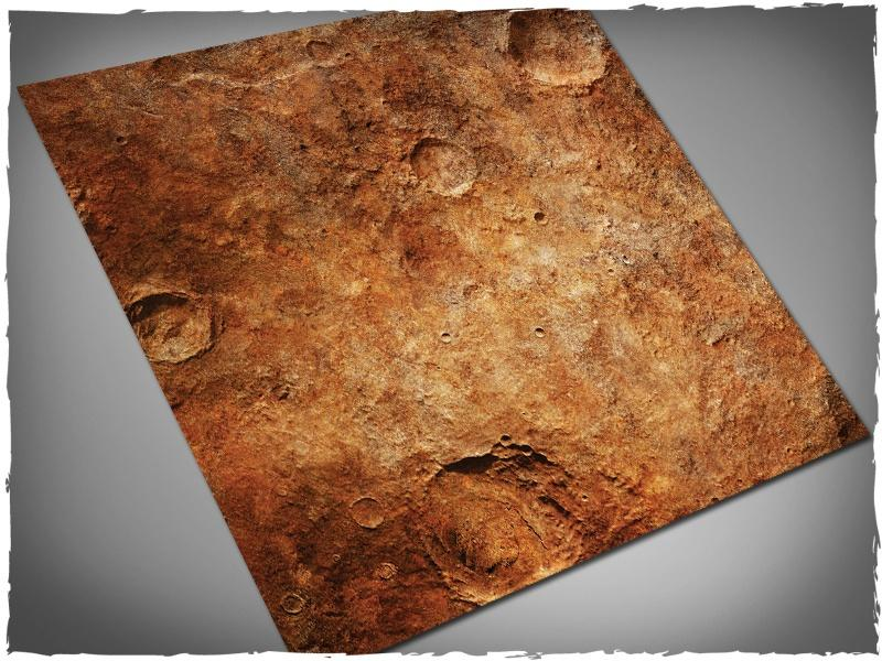 Red Planet - 4x4 Mousepad