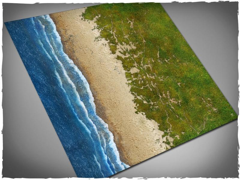 Beach - 4x4 Mousepad