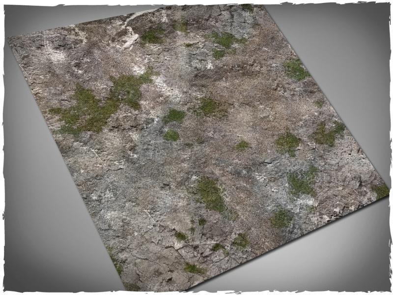 Medieval Ruins - 4x4 Mousepad