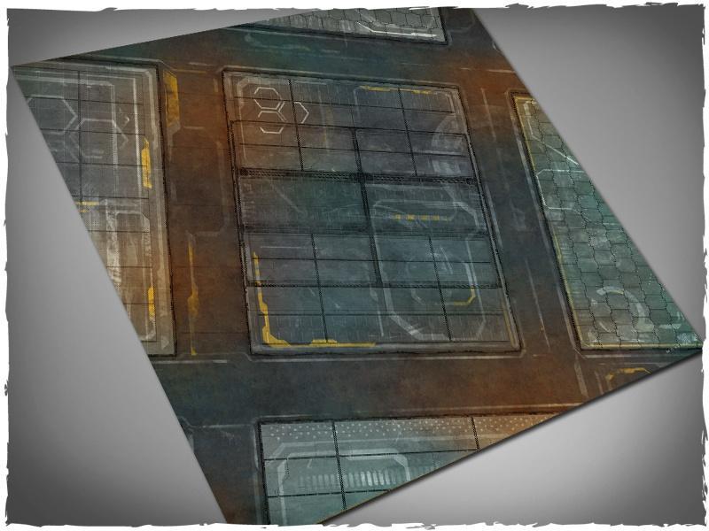Neo-Tokyo - 4x4 Mousepad