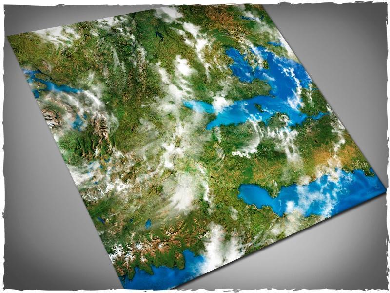 Orbital Earth - 4x4 Mousepad