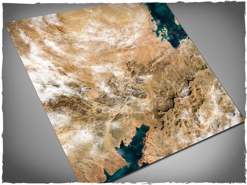 Orbital Dunes - 4x4 Mousepad