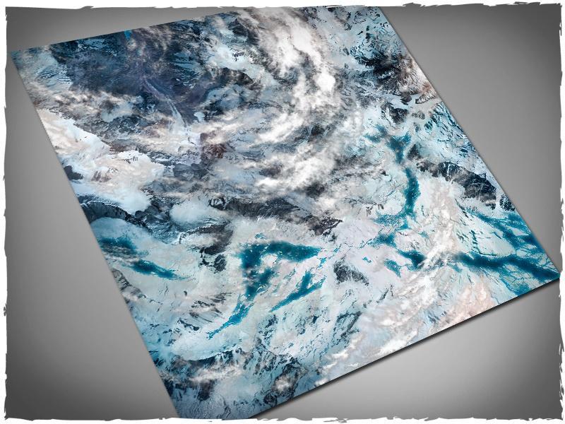 Orbital Snowfields - 4x4 Mousepad