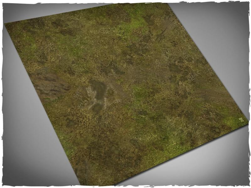 Muddy Fields - 3x3 Mousepad