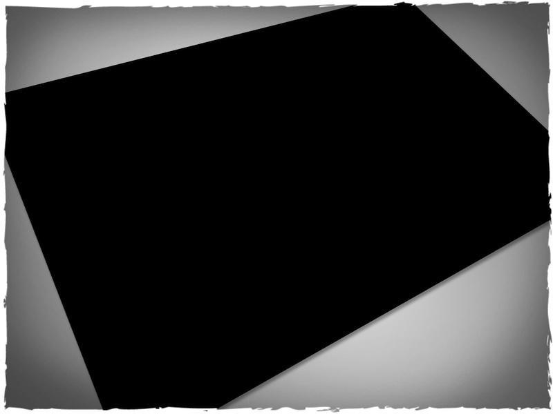 Black - 3x3 Mousepad