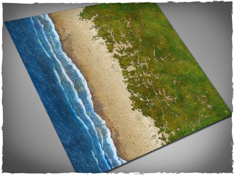 Beach - 4x4 Vinyl