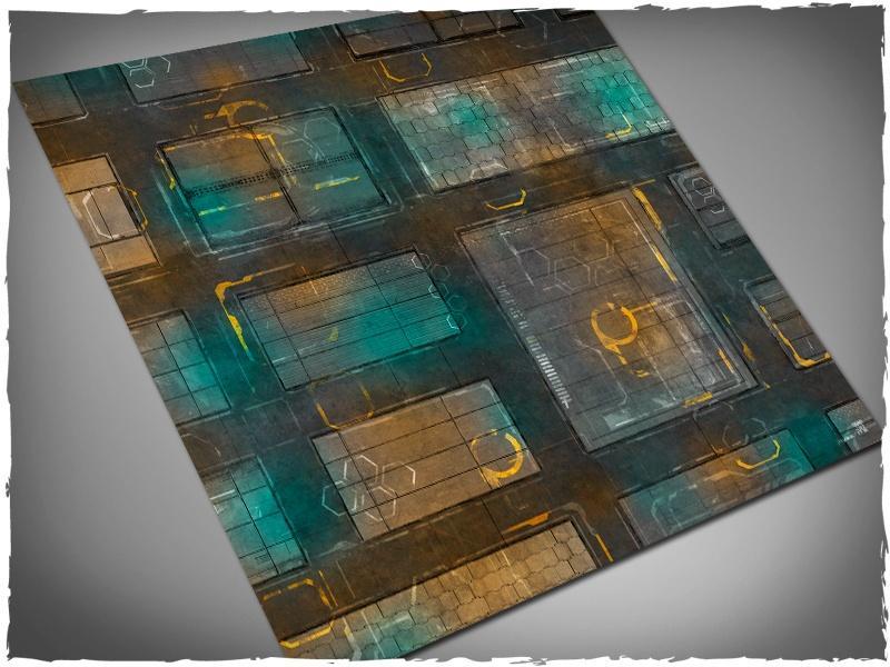 Night Cityscape - 4x4 Vinyl