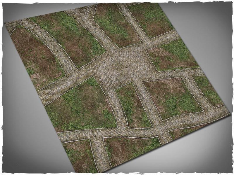 Cobblestone streets - 4x4 Cloth