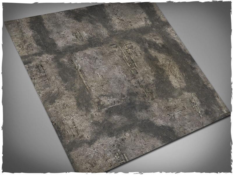 Gothic Ruins - 4x4 Cloth
