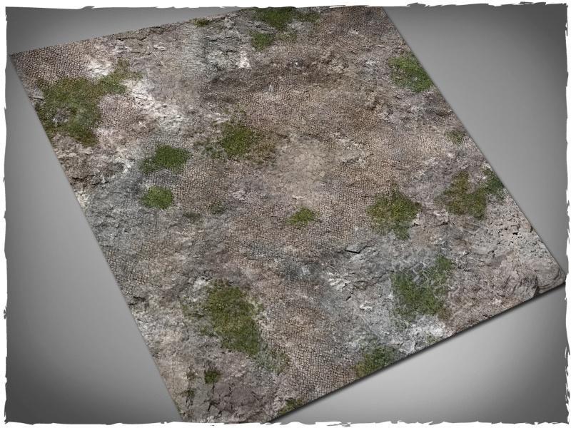 Medieval Ruins - 3x3 Cloth