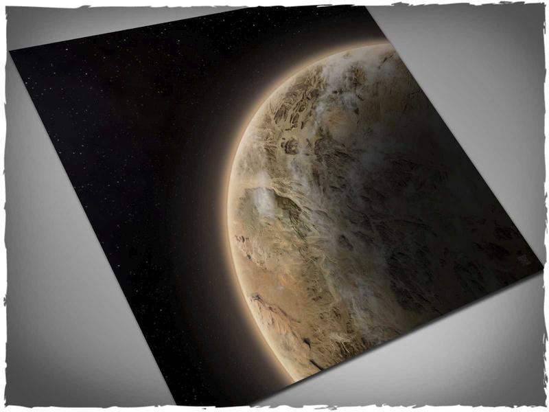 Dunes Planet - 3x3 Cloth