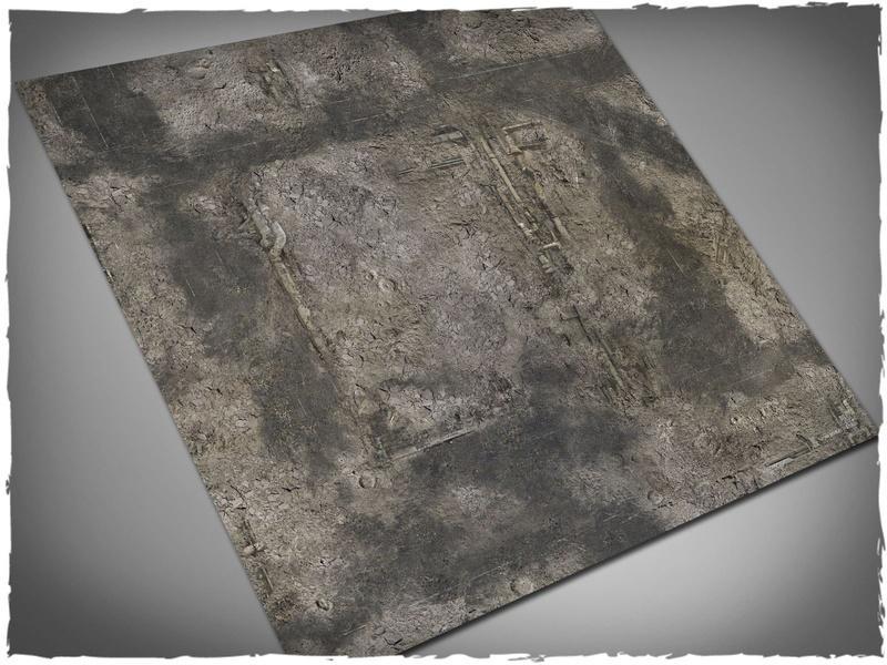 Gothic Ruins - 3x3 Cloth