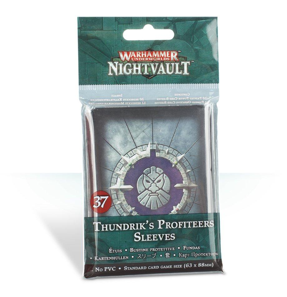 Warhammer Underworlds: Thundrik's Profiteers Sleeves