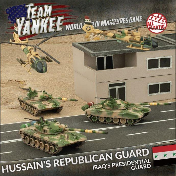 Hussein's Republican Guard (x3 T-72's x 2x Gazelle's Plastic)