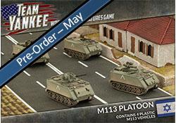 M113 Platoon (x4 Plastic)